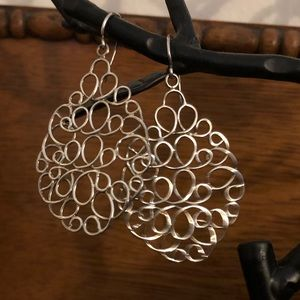 Silpada sterling silver earrings
